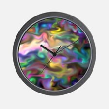 fascination fluid, multicolor2 Wall Clock