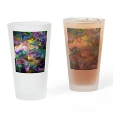 fascination fluid, multicolor2 Drinking Glass