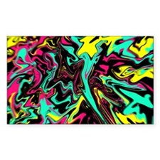 Retro psychedelic  Decal