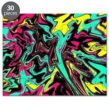 Retro psychedelic  Puzzle