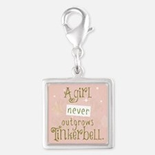 A Girl Never Outgrows Tinkerbell Charms