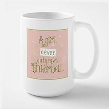 a girl never outgrows Tinkerbell Mugs