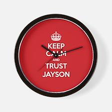 Trust Jayson Wall Clock