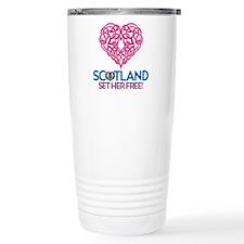 Love Scotland Travel Mug