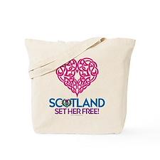 Love Scotland Tote Bag