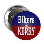 Bikers for Kerry (Metal Pinback Button)