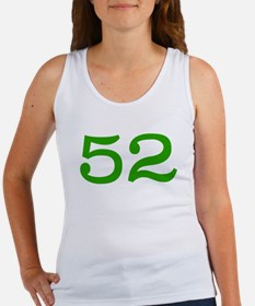 GREEN #52 Women's Tank Top