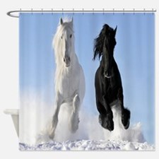 Beautiful Horses Shower Curtain