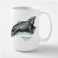 Rhinoceros Iguana Large Mug