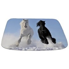 Beautiful Horses Bathmat
