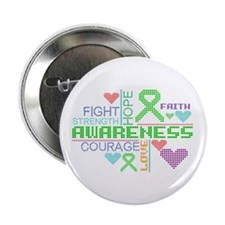 "Mitochondrial Disease Slogans 2.25"" Button"