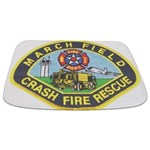 March Field Fire Bathmat