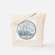Vermont State Quarter Tote Bag