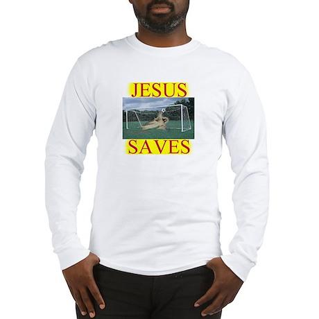 Jesus saves3 Long Sleeve T-Shirt