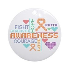 Multiple Sclerosis Slogans Ornament (Round)