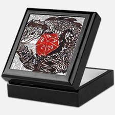 Here Be Dragons Keepsake Box