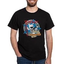Rockin' Robots Dark T-Shirt