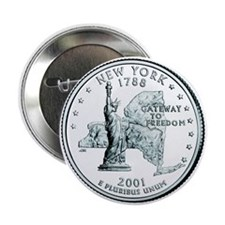New York State Quarter Button (10 pk)