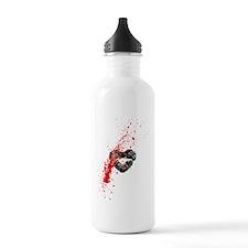 Lipstick grunge Water Bottle