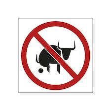 No Bull Sticker