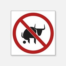 No Bull Sticker