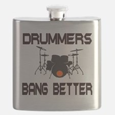 Drummers Bang Flask