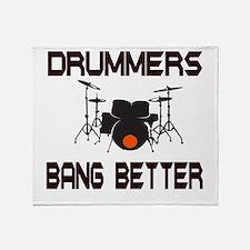 Drummers Bang Throw Blanket
