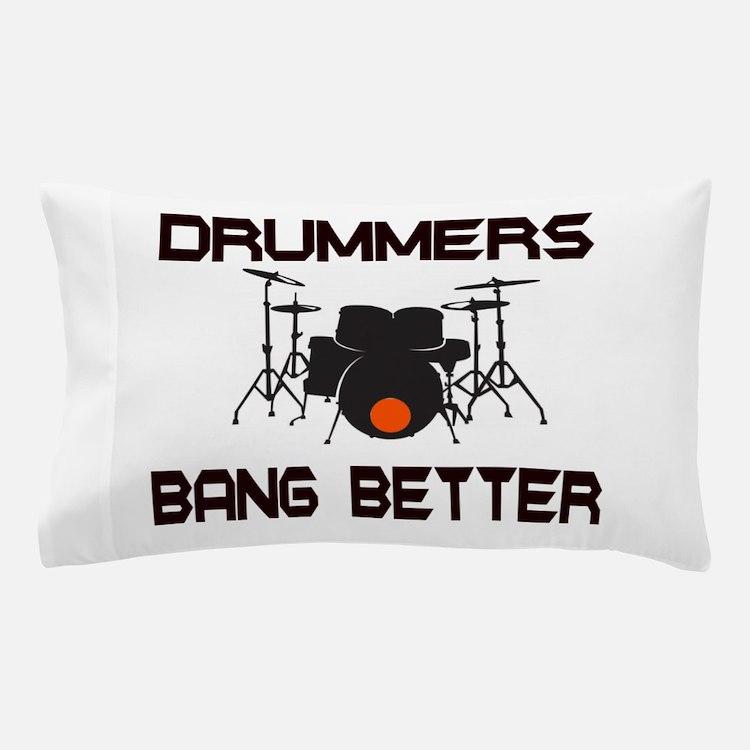 Drummers Bang Pillow Case