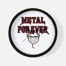 Metal Forever Wall Clock