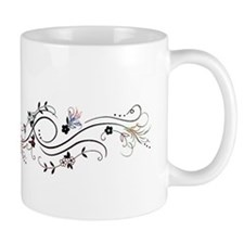 Butterfly and blossoms Mugs