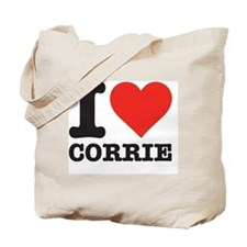I love Corrie Tote Bag