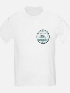North Carolina State Quarter Kids T-Shirt