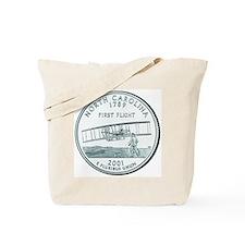 North Carolina State Quarter Tote Bag