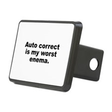 Auto Correct Is My Worst Enema Hitch Cover