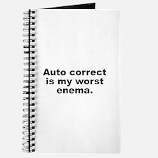 Auto Correct Is My Worst Enema Journal