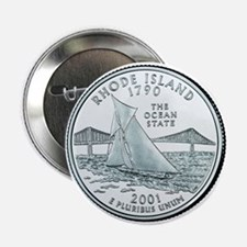 Rhode Island State Quarter Button