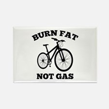 Burn Fat Not Gas Rectangle Magnet (10 pack)