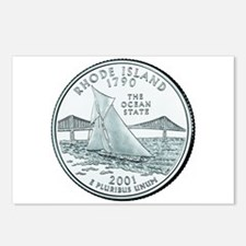 Rhode Island State Quarter Postcards (8)