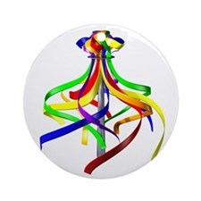 Maypole Ornament (Round)
