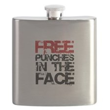 Free Punches In The Face Flask