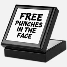 Free Punches In The Face Keepsake Box