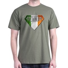 Brennan Irish Superhero T-Shirt