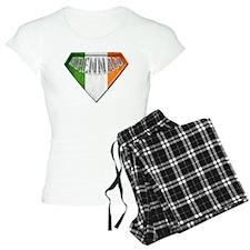 Brennan Irish Superhero Pajamas