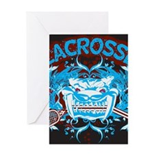 Lacrosse Diabolic Deuce 20XX Greeting Cards