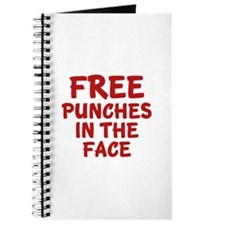 Free Punches In The Face Journal