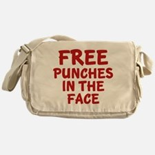 Free Punches In The Face Messenger Bag