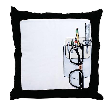 Pocket Kit Throw Pillow