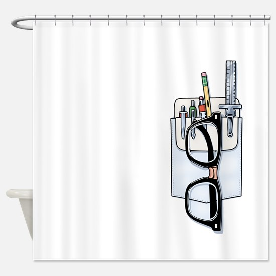 Pocket Kit Shower Curtain