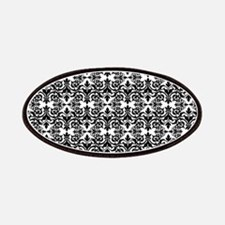 Black & White Damask 29 Patches