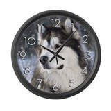 Malamute Giant Clocks